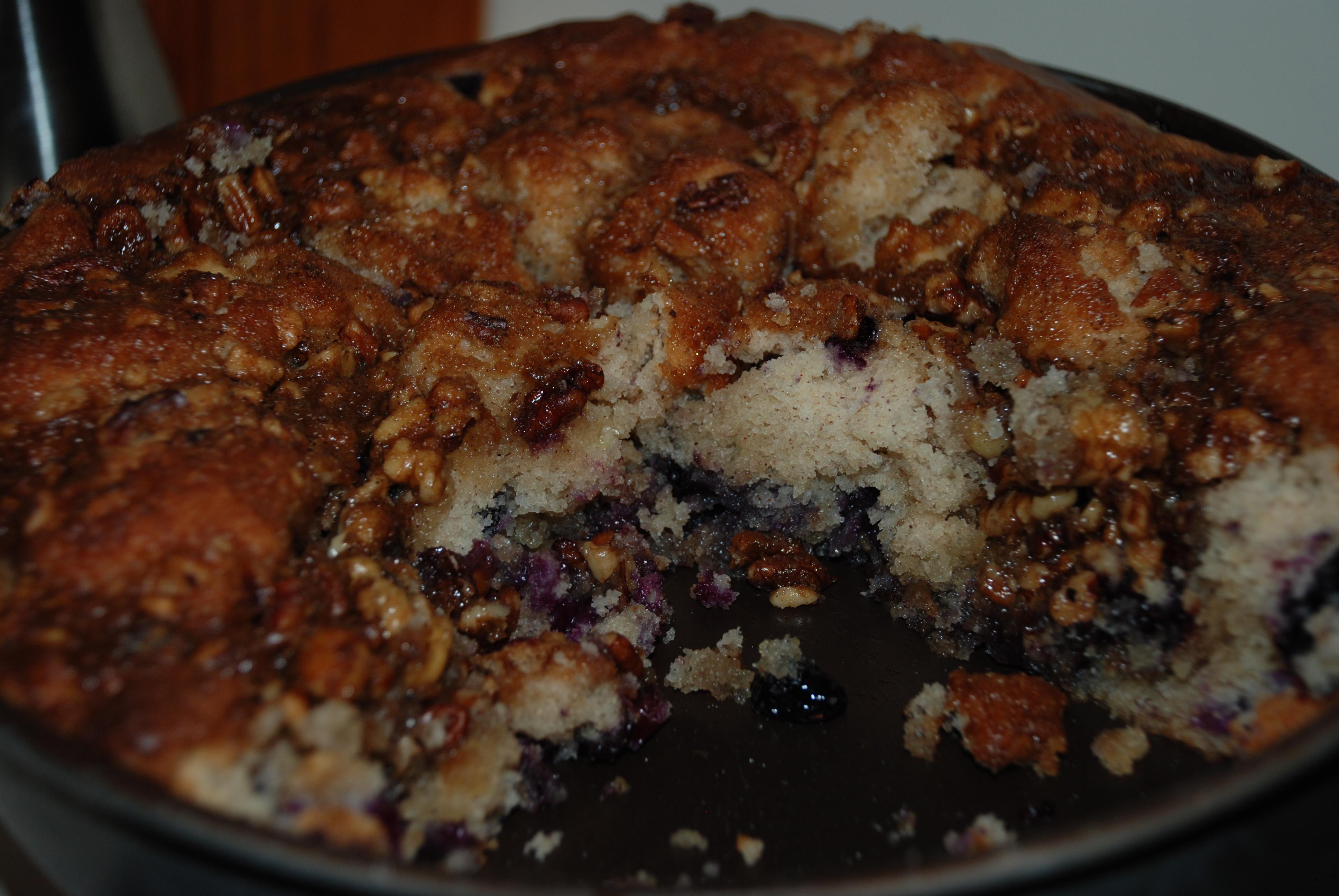 Blueberry Cinnamon Spice & Nut Coffee Cake ...