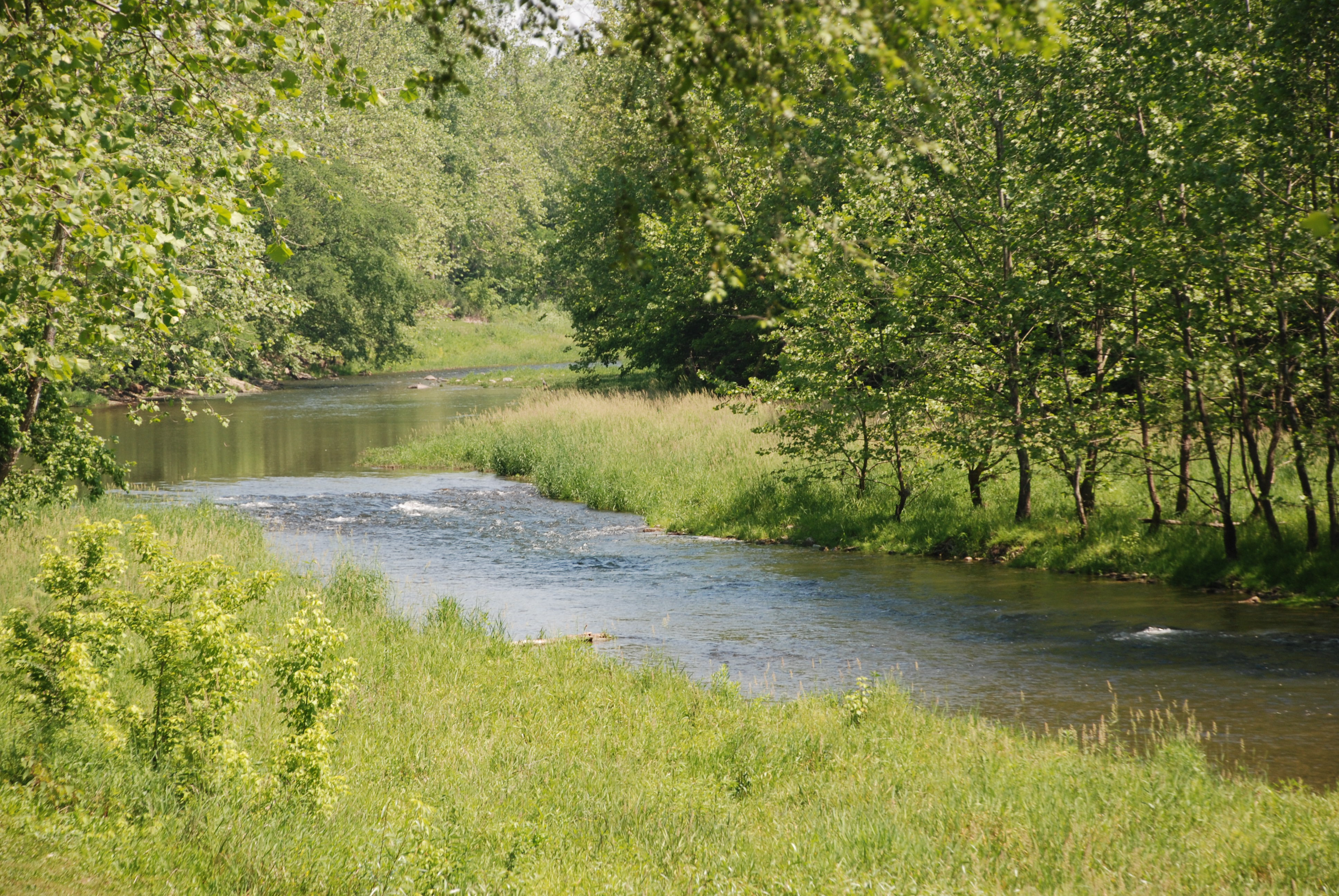 Brookville indiana is a beautiful place to fly fish for Fly fishing indiana