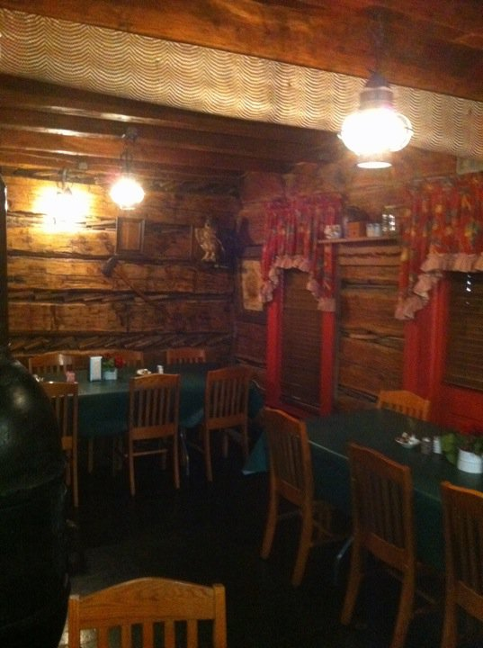 The Log Inn Restaurant In The Town Of Warrenton Indiana