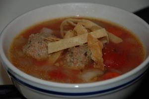 Abondigas Soup