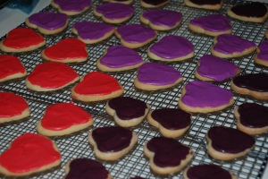 Valentine's DaySugar Cookies