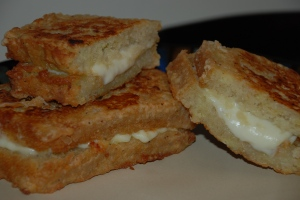 Fried MozzarellaCheese Sandwich