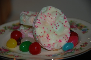 Easter ChocolateMarshmallow Bark