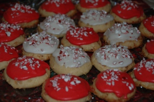Amish Peppermint Cookies