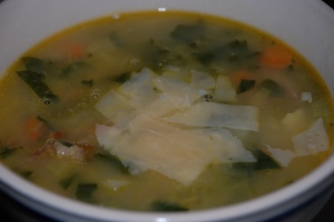 Ham, Split Pea & Veggies Soup